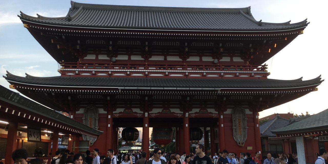 โตเกียว เที่ยวได้เที่ยวดี : วัดอาซากุสะ