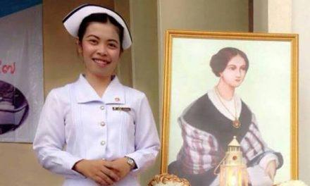 """อีกนิดเดียวกับการทำตามความฝันของ """"เมย์"""" ……ครูพยาบาล"""