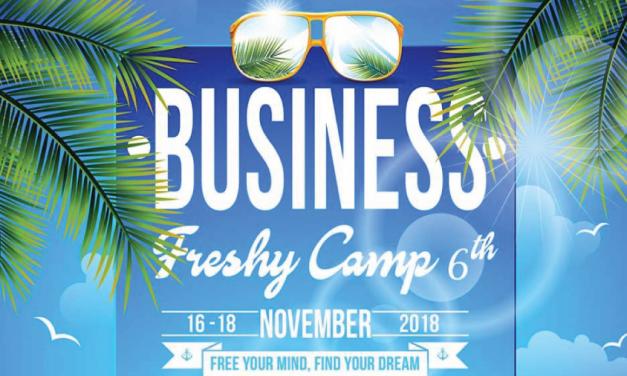 Business Freshy Camp #6 (ค่ายสู่รั้วพังงา ครั้งที่6)