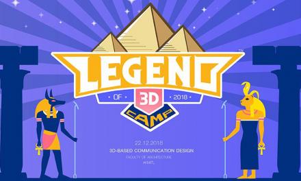 Legend of 3D Camp ค่ายติวออกแบบสนเทศสามมิติ สถาปัตย์ลาดกระบัง