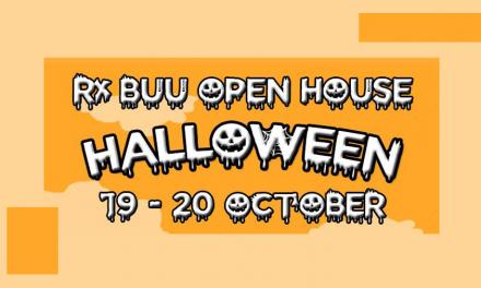 """""""Rx BUU Open House PharmaHalloween"""" โครงการเปิดบ้านเภสัชบูรพา ครั้งที่ 7"""
